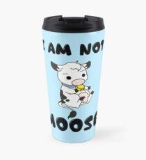 Not 'Amoosed' Cow Pun Travel Mug