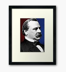 GROVER CLEVELAND Framed Print