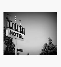 Motel in Bend, Oregon... Photographic Print