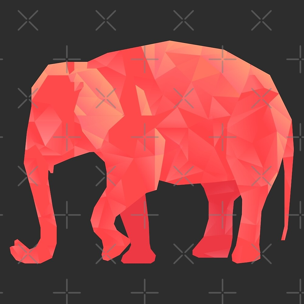 Polygon Elephant by depresident