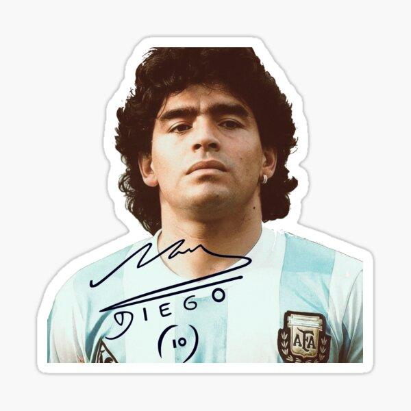 Diego maradona Pegatina
