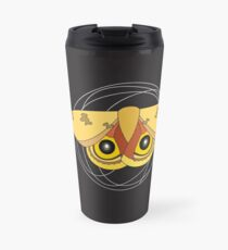 National Moth Week - Io black Travel Mug
