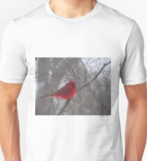 Cardinal Calm in Chaotic Conditions Unisex T-Shirt