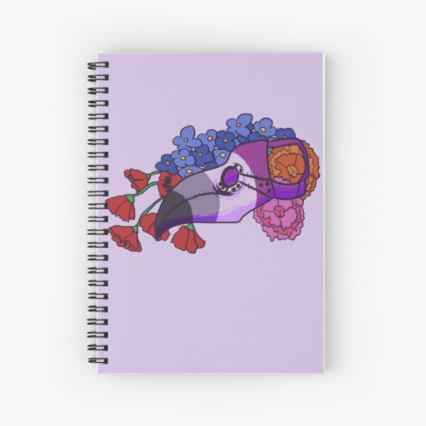 Pride Doctor - Asexual Spiral Notebook