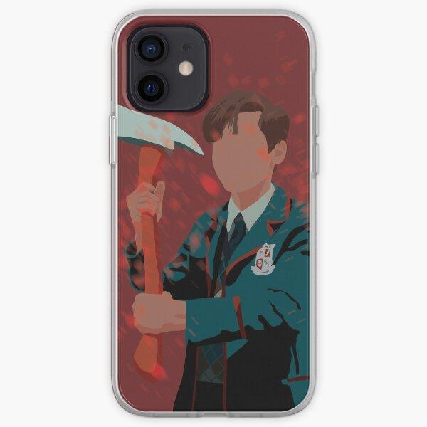 Number Five - Umbrella Academy - Aidan Gallagher Funda blanda para iPhone