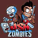 Ash vs Zombies by javiclodo