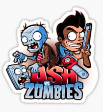 Ash vs Zombies Sticker