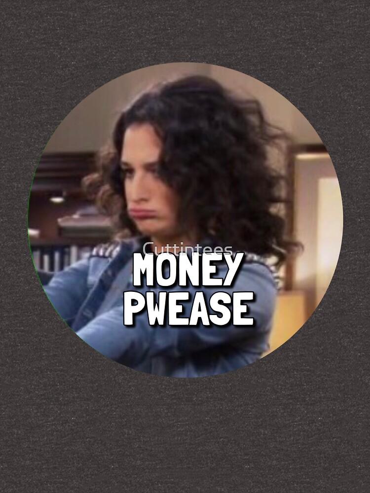 Money Pwease - Mona Lisa Saperstein by Cuttintees