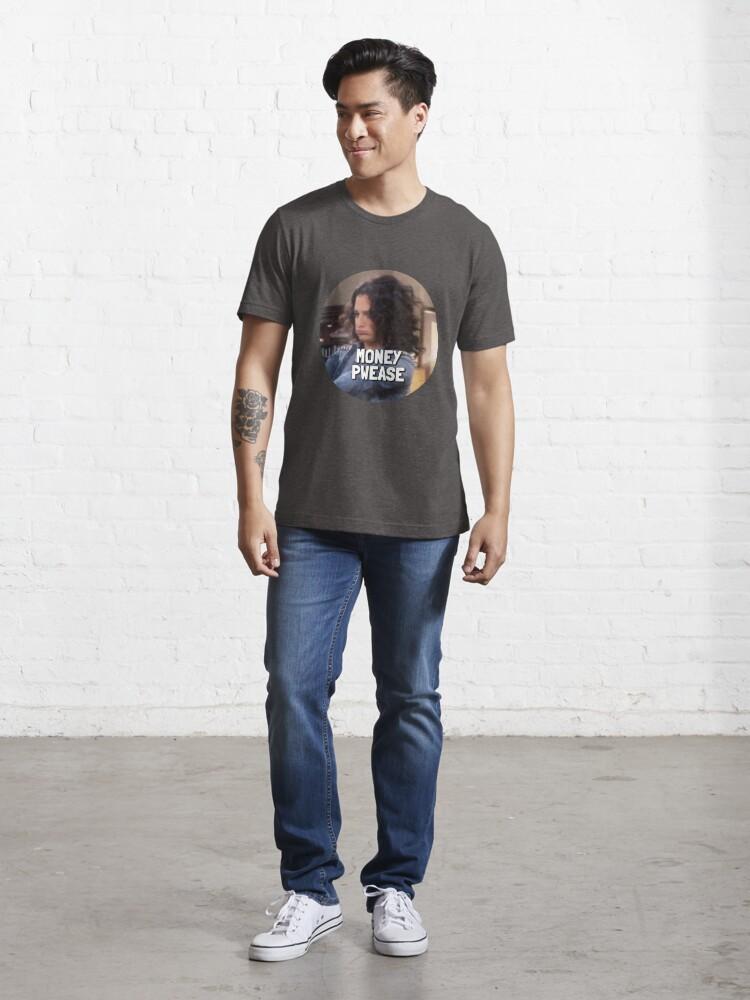 Alternate view of Money Pwease - Mona Lisa Saperstein Essential T-Shirt