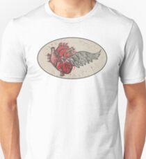 As the heart flies Unisex T-Shirt