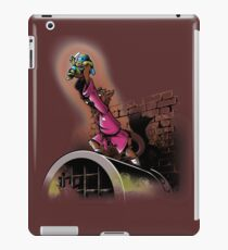 The turtle king iPad Case/Skin