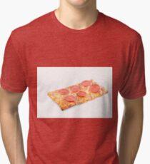 Pepperoni School Pizza Tri-blend T-Shirt