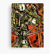 Time Machine Canvas Print