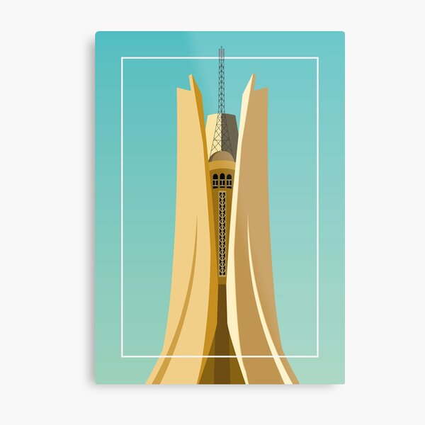 Monument of the Martyr Algiers Metal Print