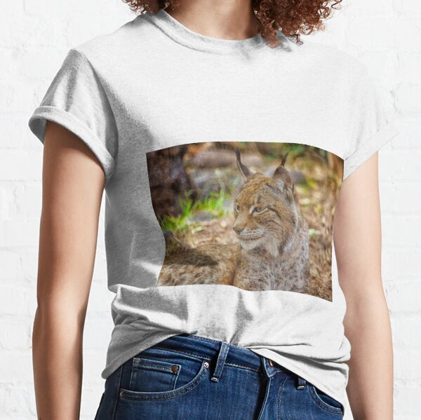 Lynx in close up Classic T-Shirt