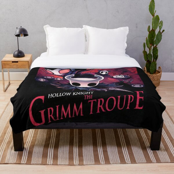 The Grimm Troupe Throw Blanket