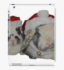 Christmas Rabbits iPad Case/Skin