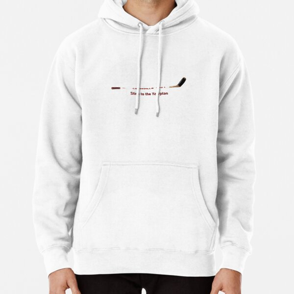 Stick to the Yzerplan - Go Wings Pullover Hoodie