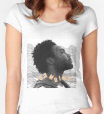 Kindliches Gambino Tailliertes Rundhals-Shirt