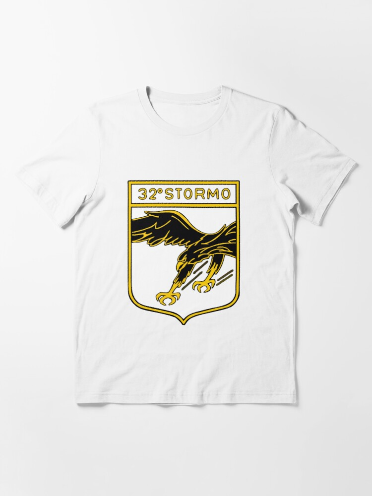Alternate view of Model 117 - 32º Stormo Essential T-Shirt