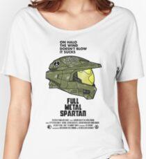 Full Metal Spartan Women's Relaxed Fit T-Shirt