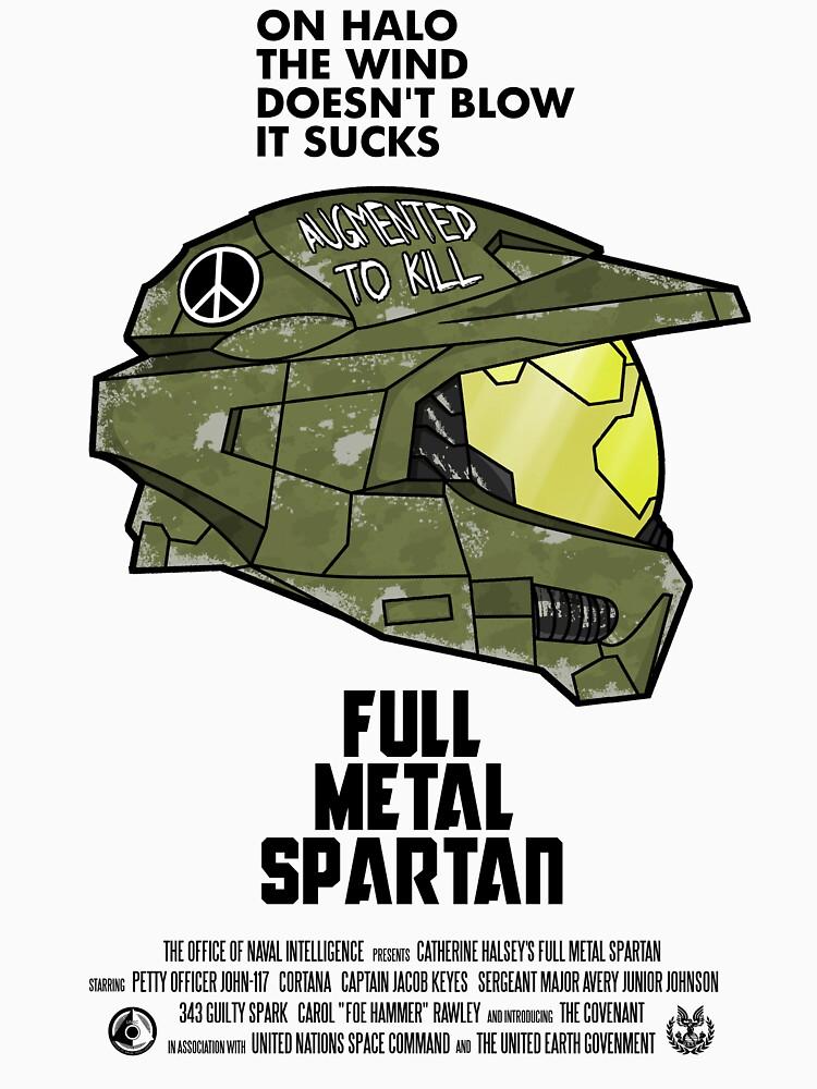 Full Metal Spartan | Unisex T-Shirt