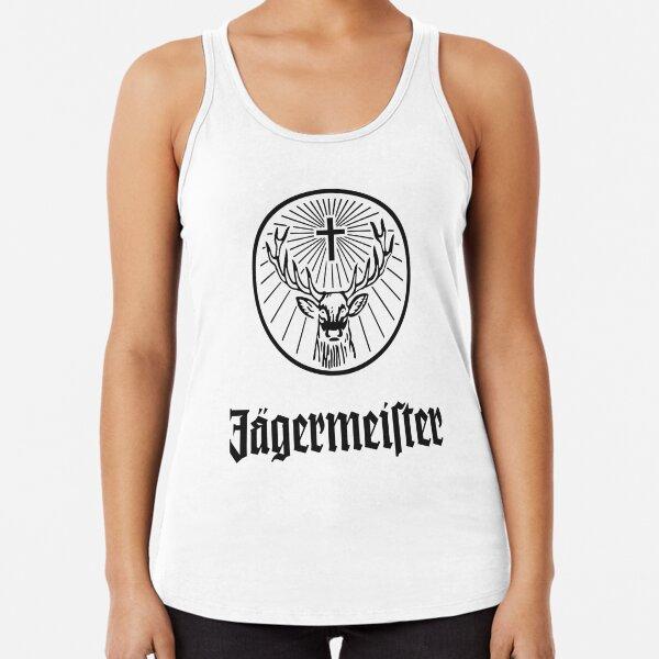 Logotipo de Jagermeister para hombre Camiseta con espalda nadadora