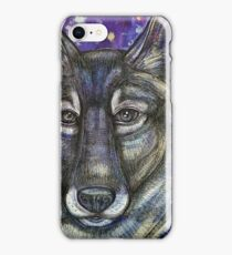 Gray Wolf iPhone Case/Skin