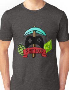8-Bit Noob Logo Unisex T-Shirt
