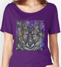 Gray Wolf Women's Relaxed Fit T-Shirt