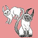 The Siamese Siamese Cat by BettyRocksteady