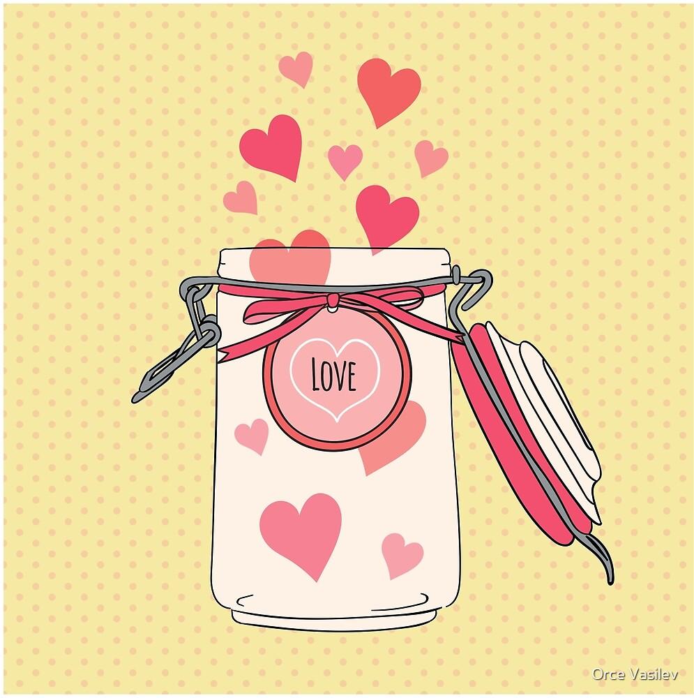 A Jar full of Love by Orce Vasilev