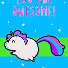 Unicorn of Awesome by perdita00