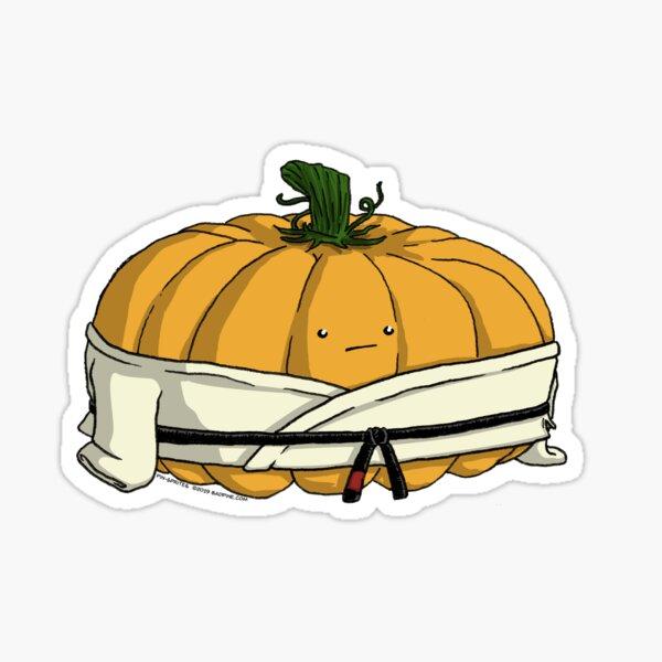 Pin-Sprites - Pumpkin in a Gi - Color/Face Sticker