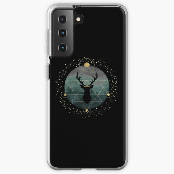 Throne of Glass- Forest Stag Samsung Galaxy Soft Case