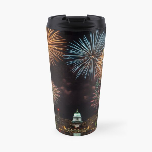 Fireworks! Travel Mug