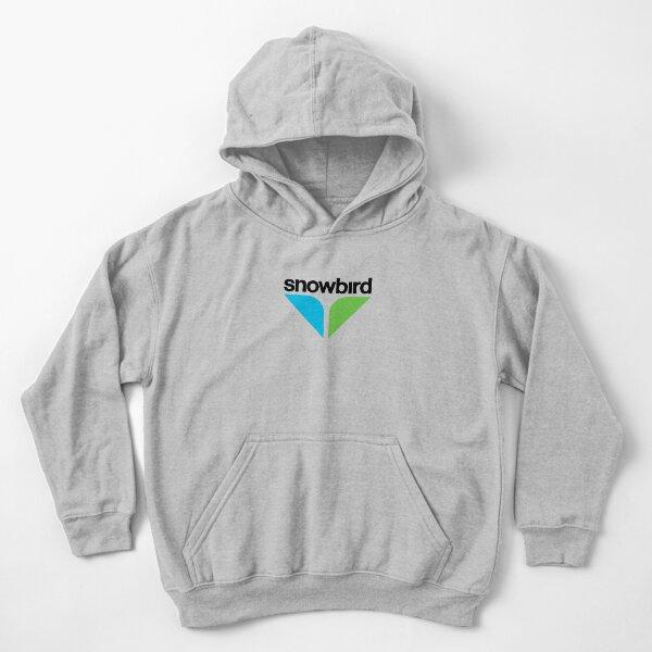 BEST SELLER - Snowbird Logo Merchandise Kids Pullover Hoodie