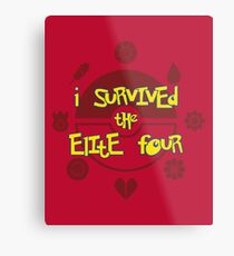 I Survived the Elite Four Metal Print
