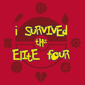 I Survived the Elite Four by MOMOshwing