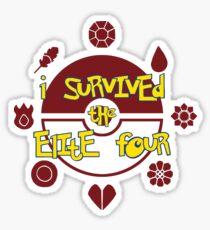 I Survived the Elite Four Sticker