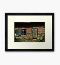 Once Upon A Time Painted Framed Print