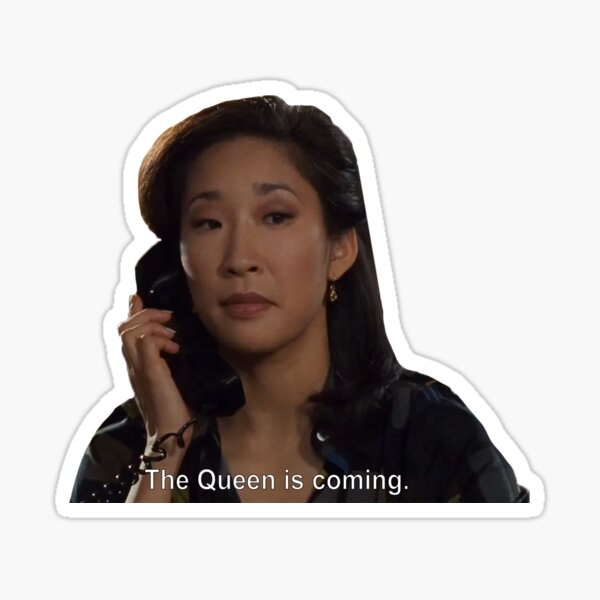 The Queen is Coming! Princess Diaries Sticker