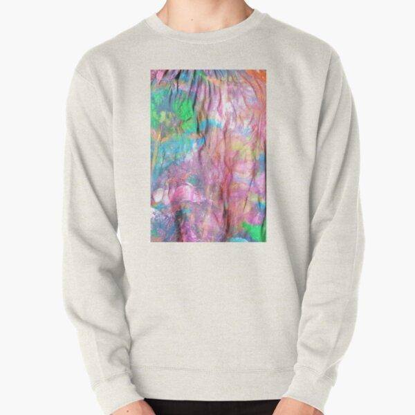 Vibrant Color Pullover Sweatshirt