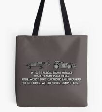 "Colonial Marines Tech - ""We Got"" [Aliens] Tote Bag"