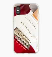 Candy Red Fender Strat iPhone-Hülle & Cover