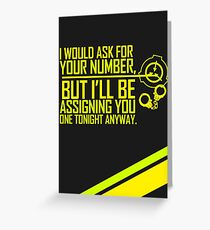 What's Your (Item) Number 2 Greeting Card