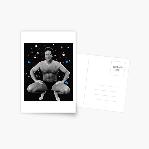 Tom Jones 1987 Postcard