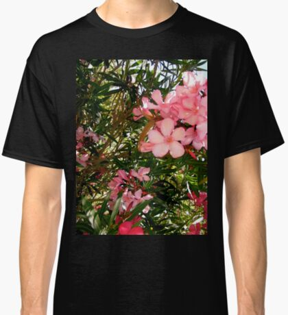 Pink and red oleanders Classic T-Shirt