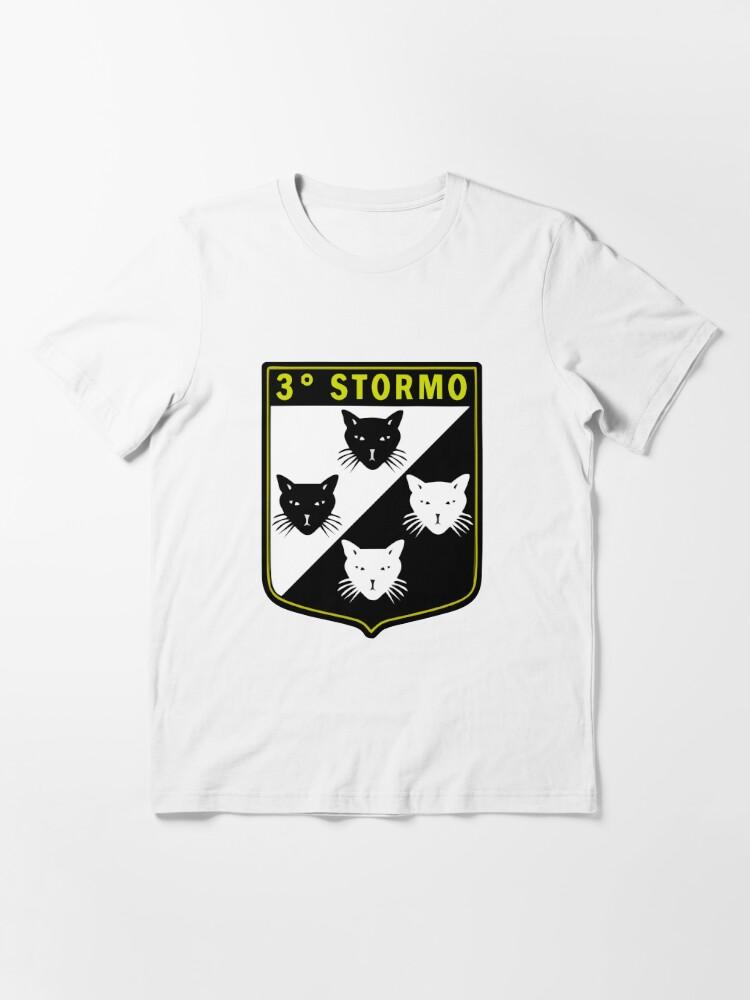 Alternate view of Model 119 - 3º Stormo Essential T-Shirt