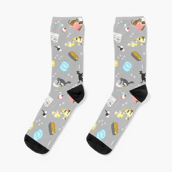 Schlafen in Kuchenformen Socken